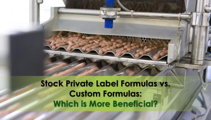 Stock Formulas vs. Custom Formulas